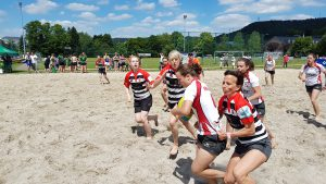 Beach Rugby Ladies