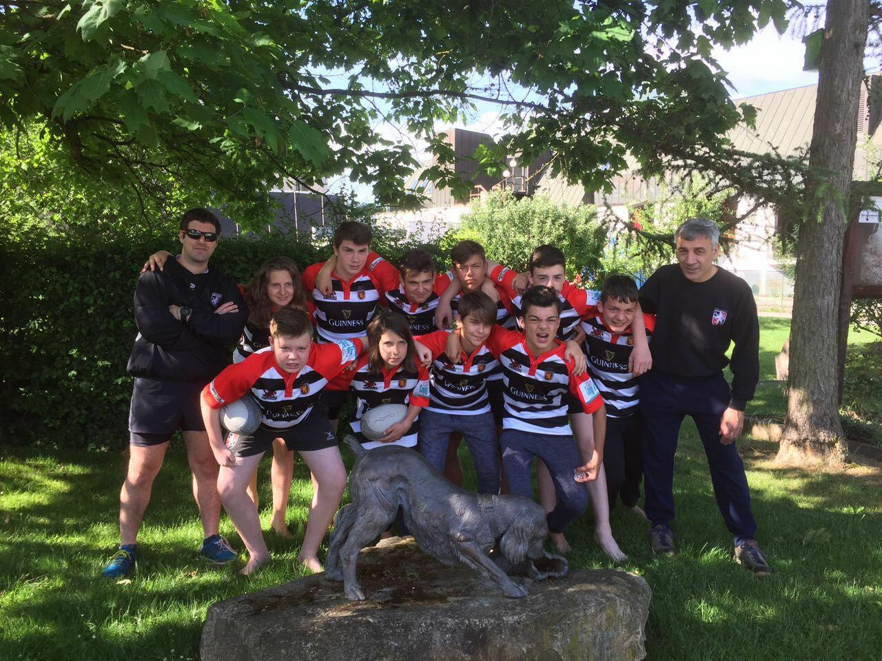Gruppenbild Rugby Jugend