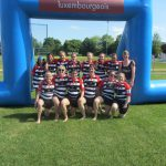 Gruppenbild Ladies Beach Rugby
