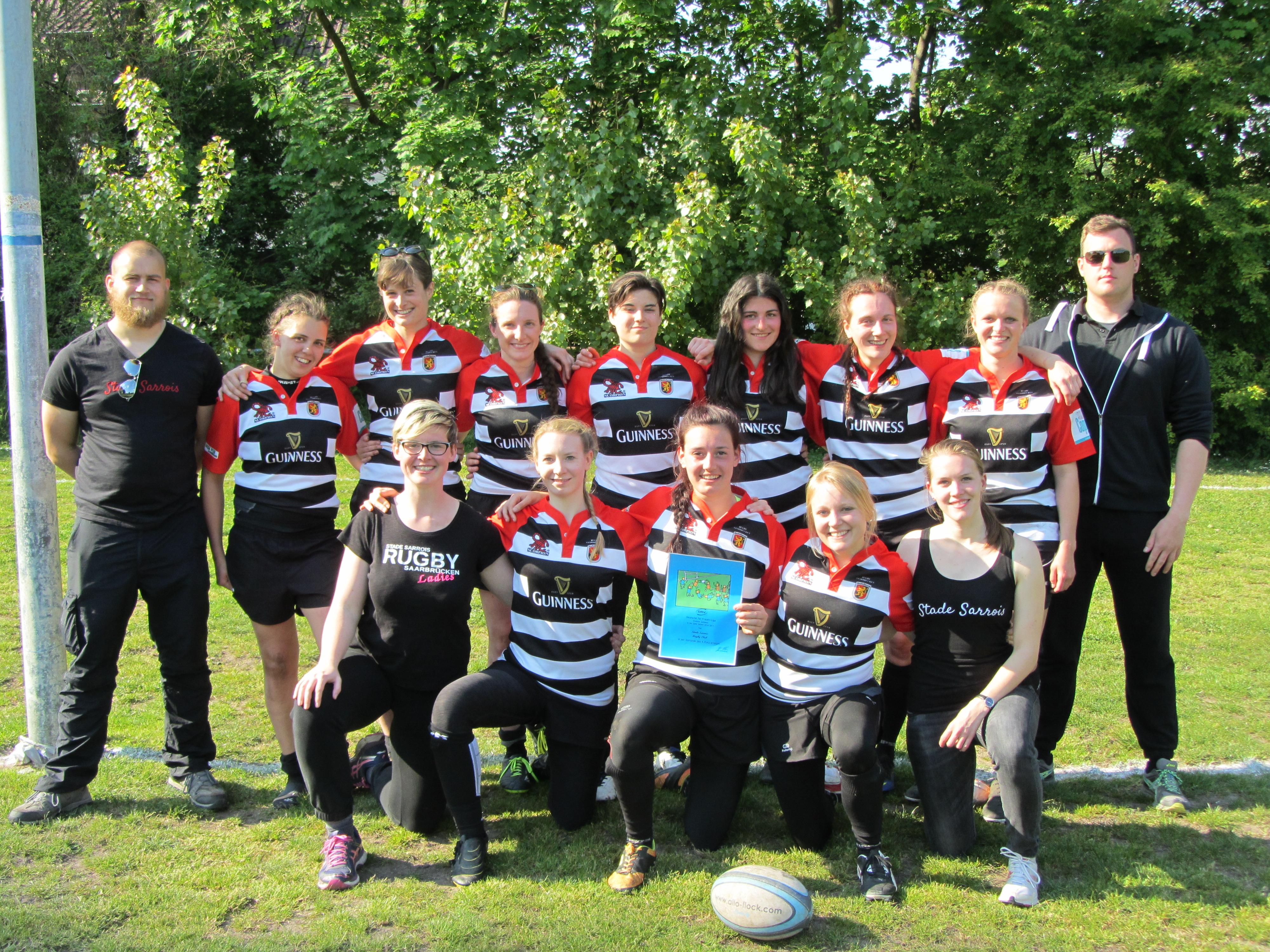 Teamfoto Stade Sarrois Rugby Ladies