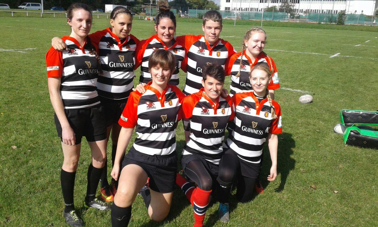 Teamfoto der Stade Sarrois Rugby Ladies