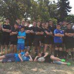 Gruppenbild Trainingsbeginn Rugbyjugend SSR