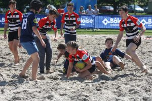 Kids Beach Rugby