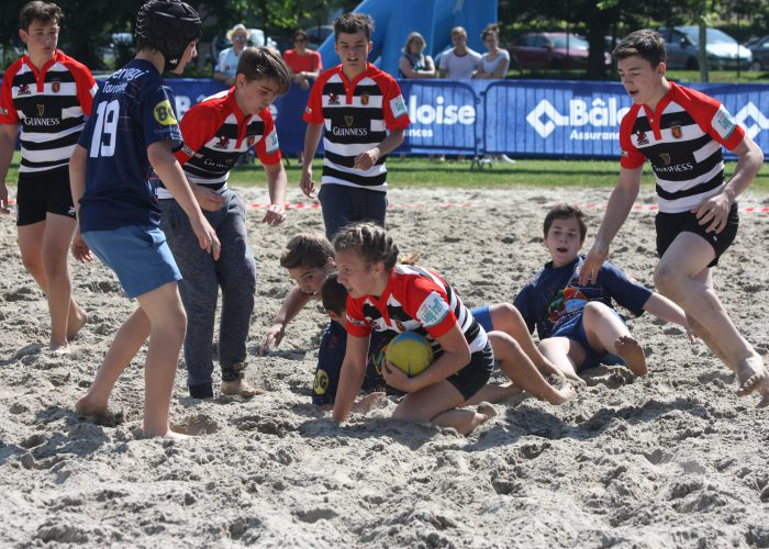 Kids Beach Rugby